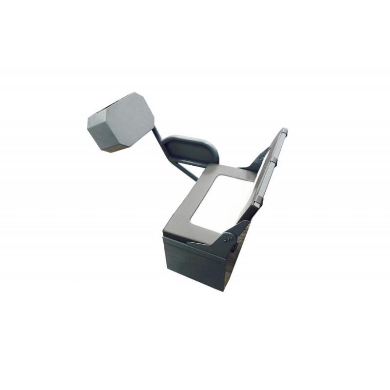 Seduta Con Console In Alluminio