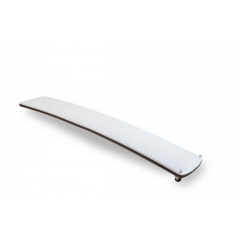 Passerella fissa in carbonio white line